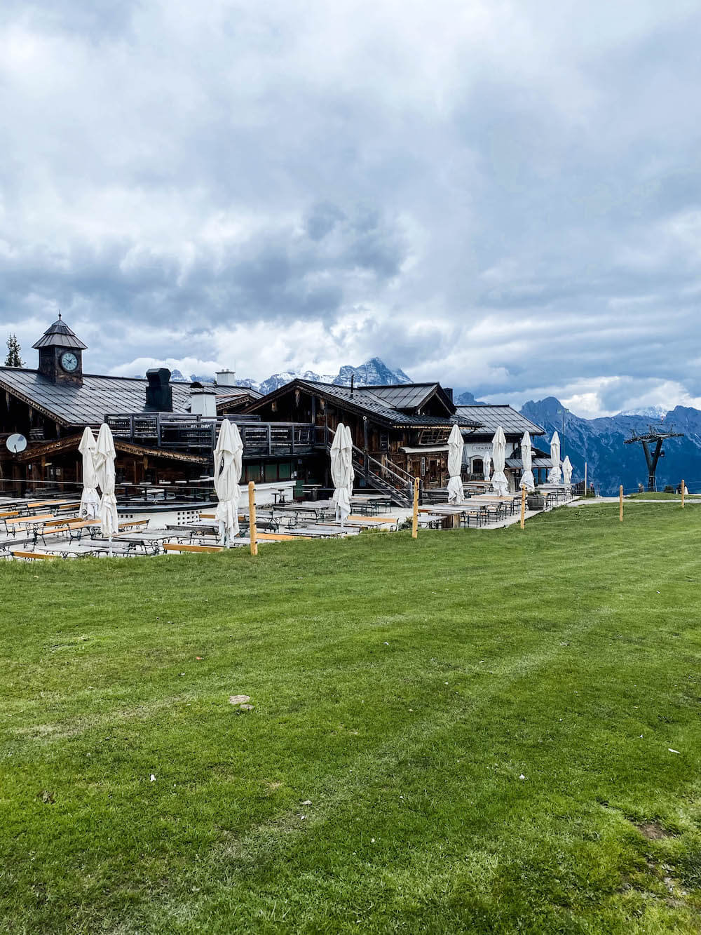 Panoramablick vom Asitz in Leogang
